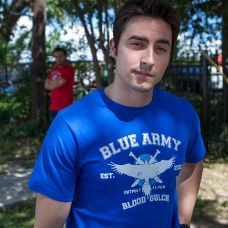 Футболка Blue Team