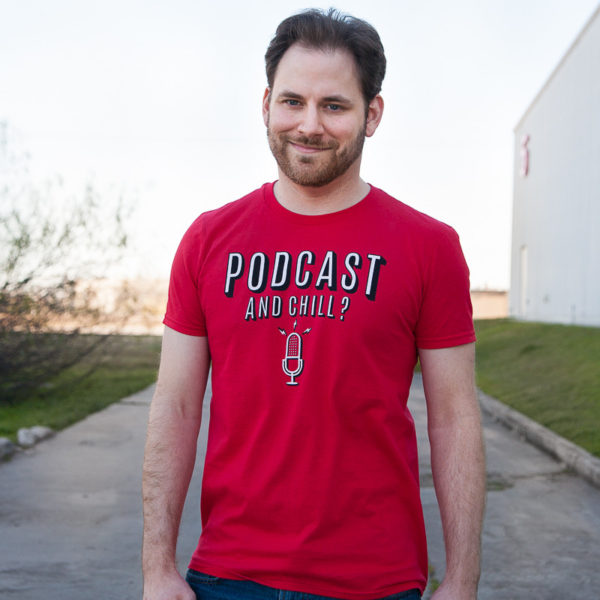 Футболка Podcast & Chill