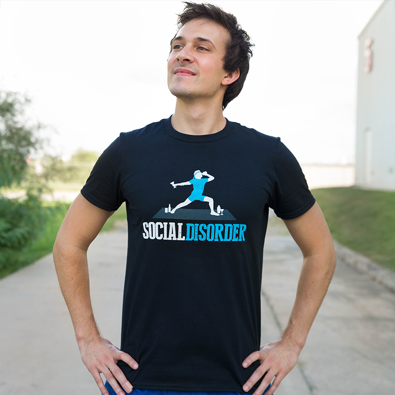 Футболка Social disorder yoga
