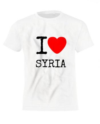 Футболка I love Siria