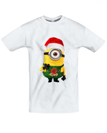 Футболка Minions new year green