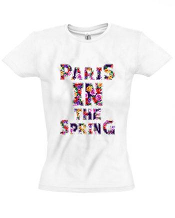 Футболка Paris in the spring
