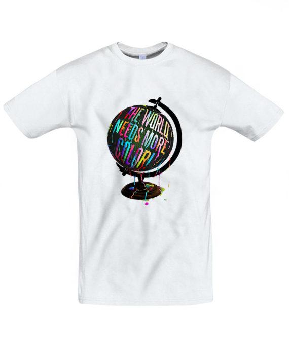 Футболка Цветной Глобус